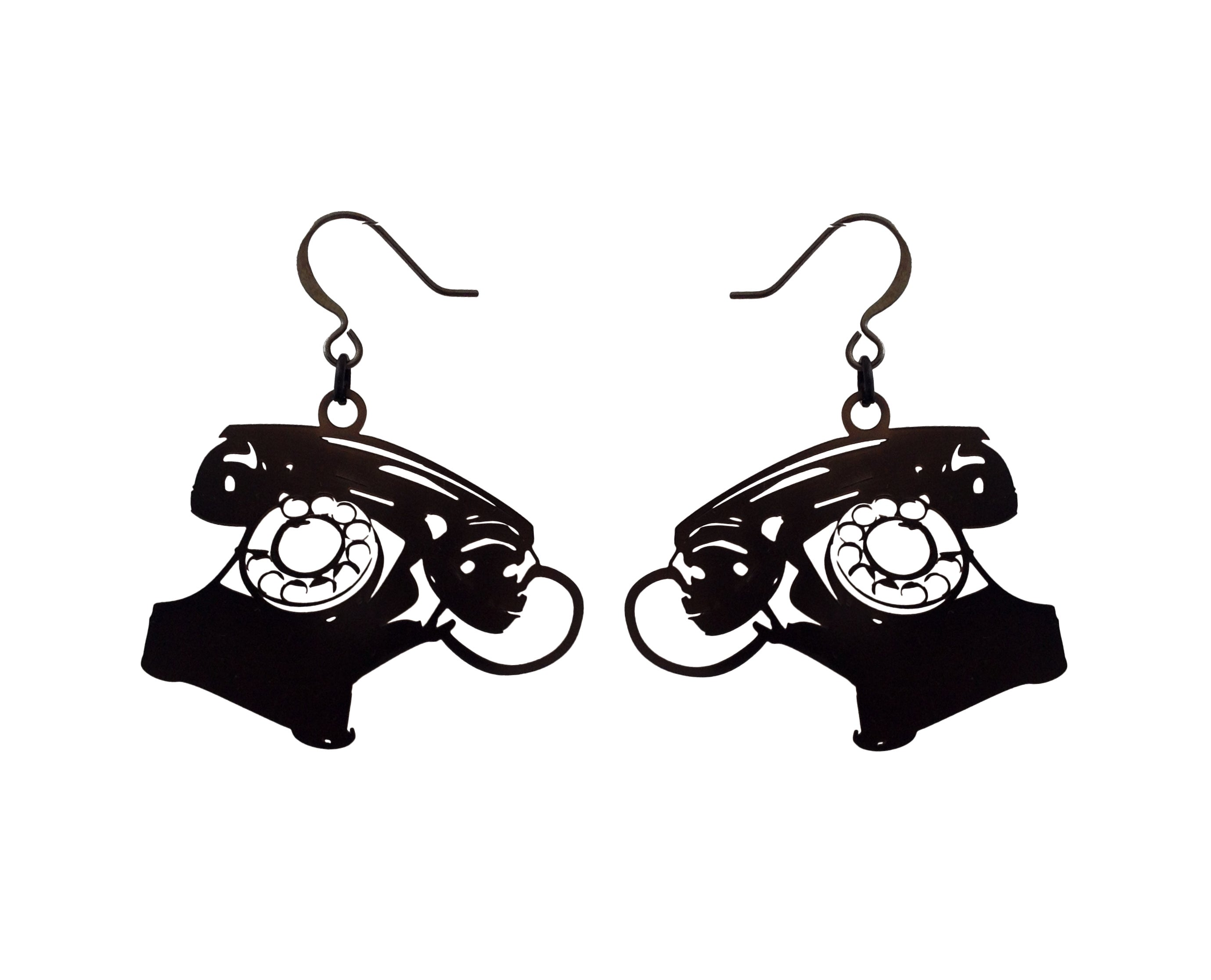 Dreyfus Phone Earrings