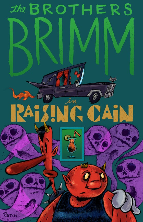 "Image of ""Raising Cain"" Comic Book featuring the Brothers Brimm"