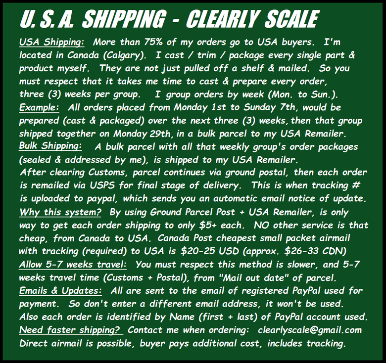Image of *MUST READ* USA SHIPPING BULLETIN