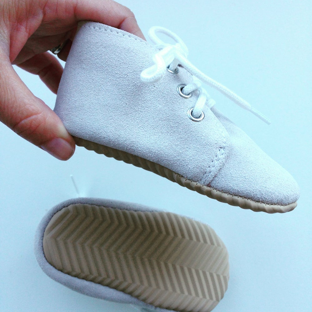 Image of OXFORD BOOTIE - light grey