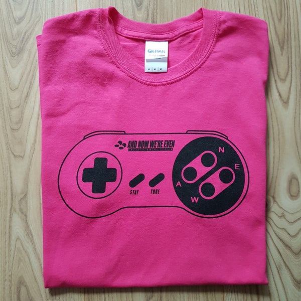Image of ANWE Controller T-Shirt: PINK