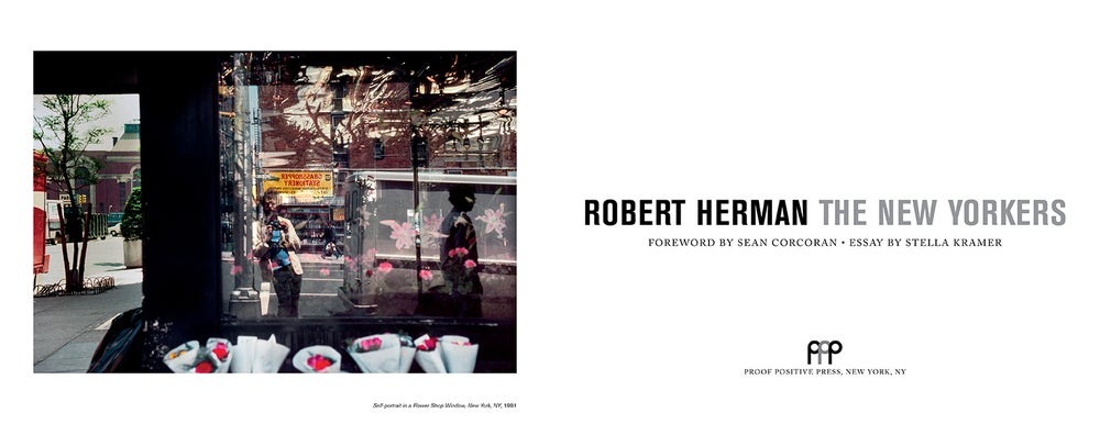 Image of The New Yorkers by Robert Herman signed $45