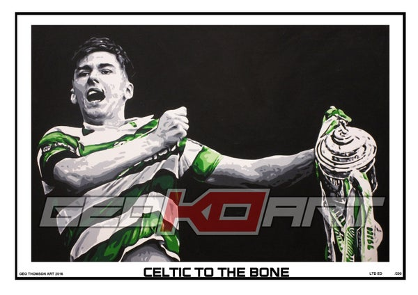 Image of KIERAN TIERNEY - SCOTTISH CUP FINAL