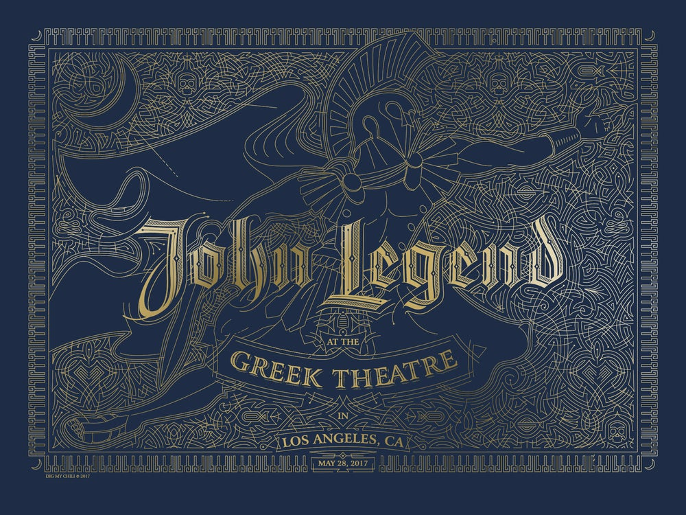 Image of John Legend Greek Theatre LA May28