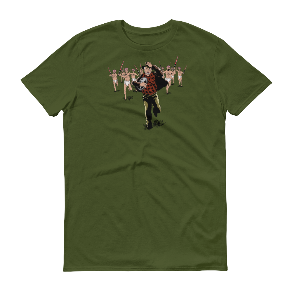 Image of Whiners of the Lost Crib Tee - Short Sleeve T-Shirt (Jungle Green)