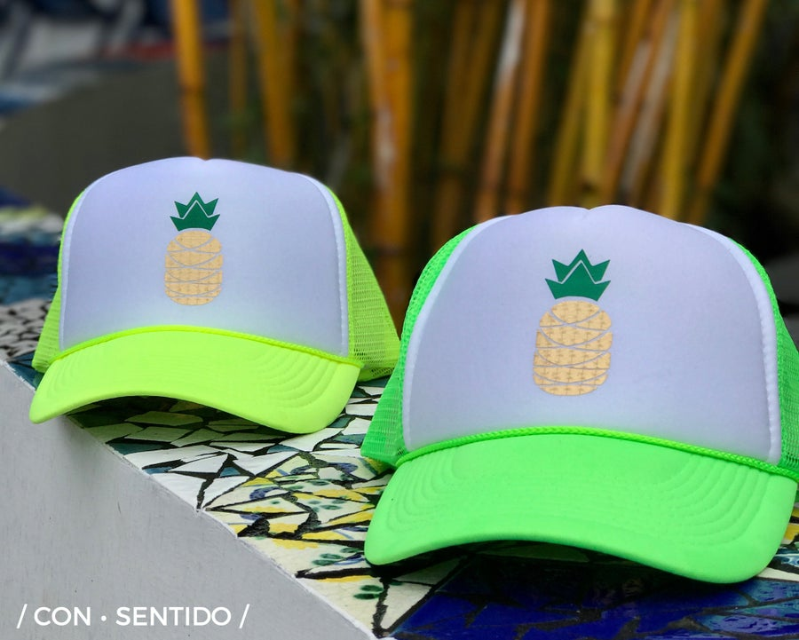 ... Image of New Pineapple Trucker Hat 036baa77c2e2