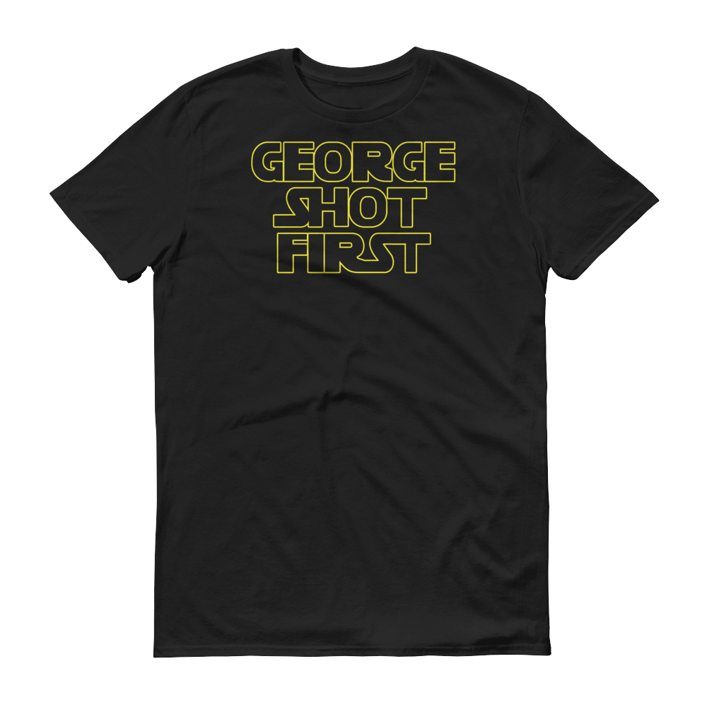 Image of Logo Tee -- Short Sleeve T-Shirt (Dark Side Black)