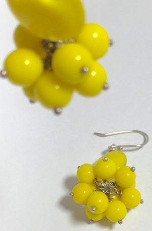 Image of Cluster - single drop - earring