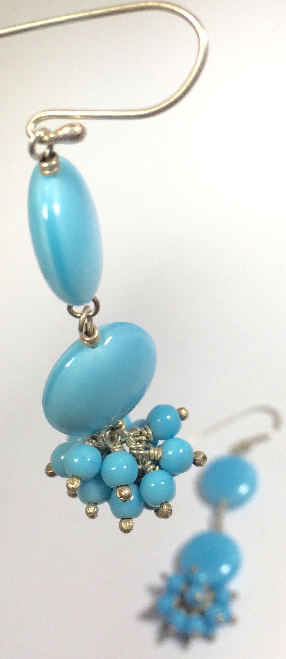 Image of Cluster - double drop - earrings