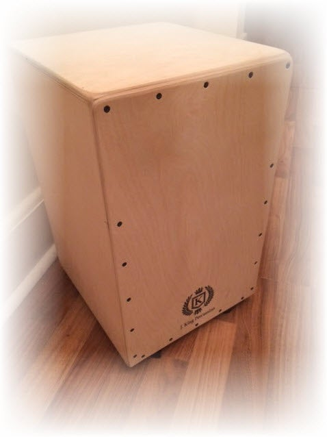 Image of Professional All Birch Cajon w/Drum Key Adjustable String Tension - Natural