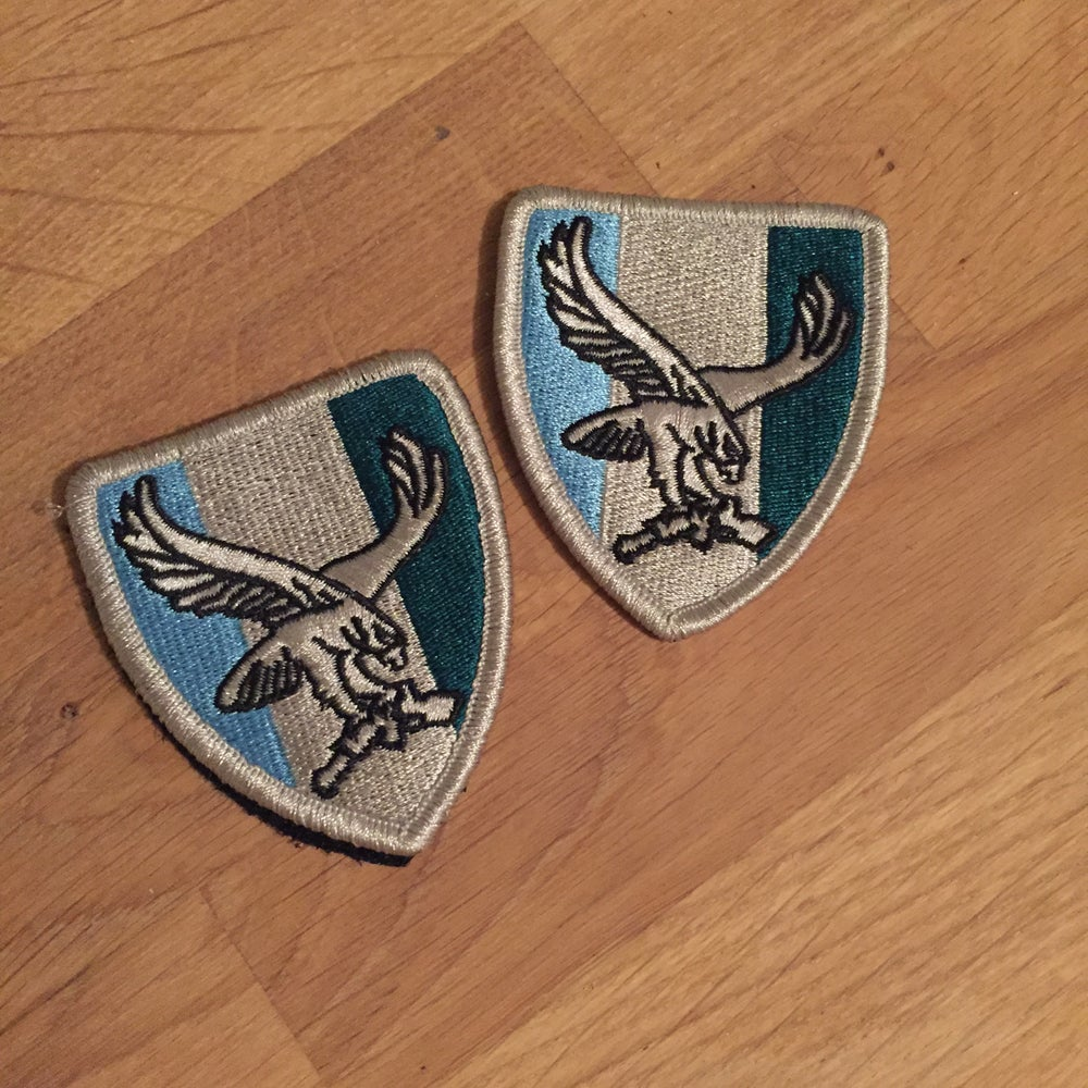 Image of Eagle Patch Set