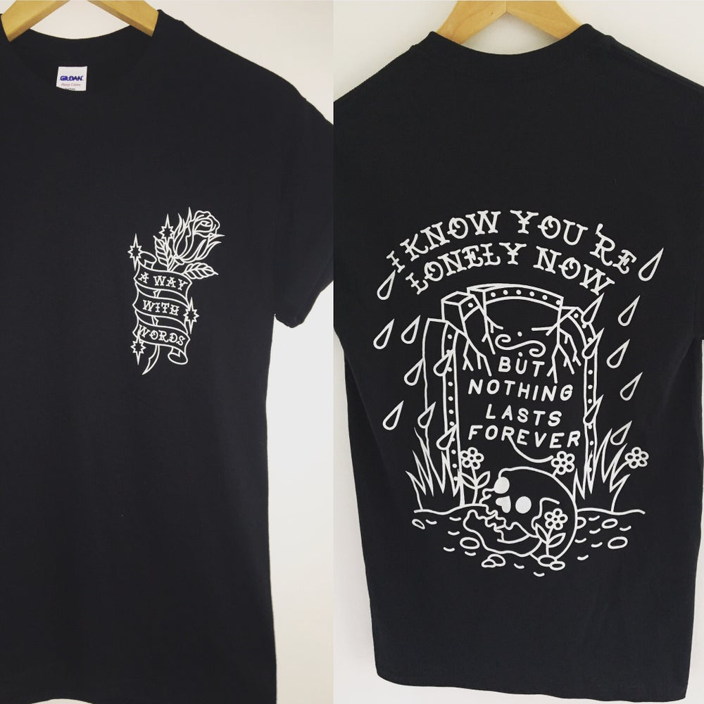 Image of A Way With Words Lyric Tee
