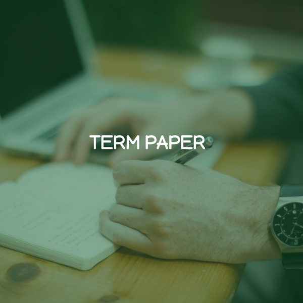 Image of Term Paper(any topic)