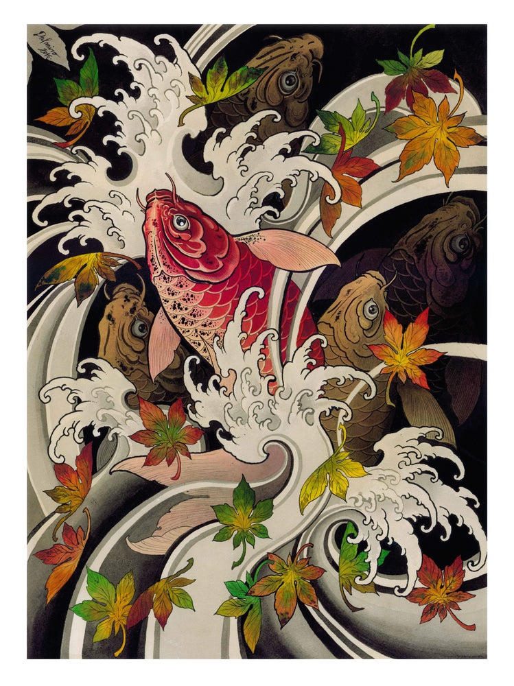 Image of AUTUMN ESCAPE (print)