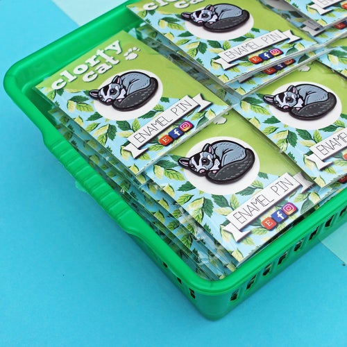 Image of Sugar Glider - enamel pin - cute lapel pin