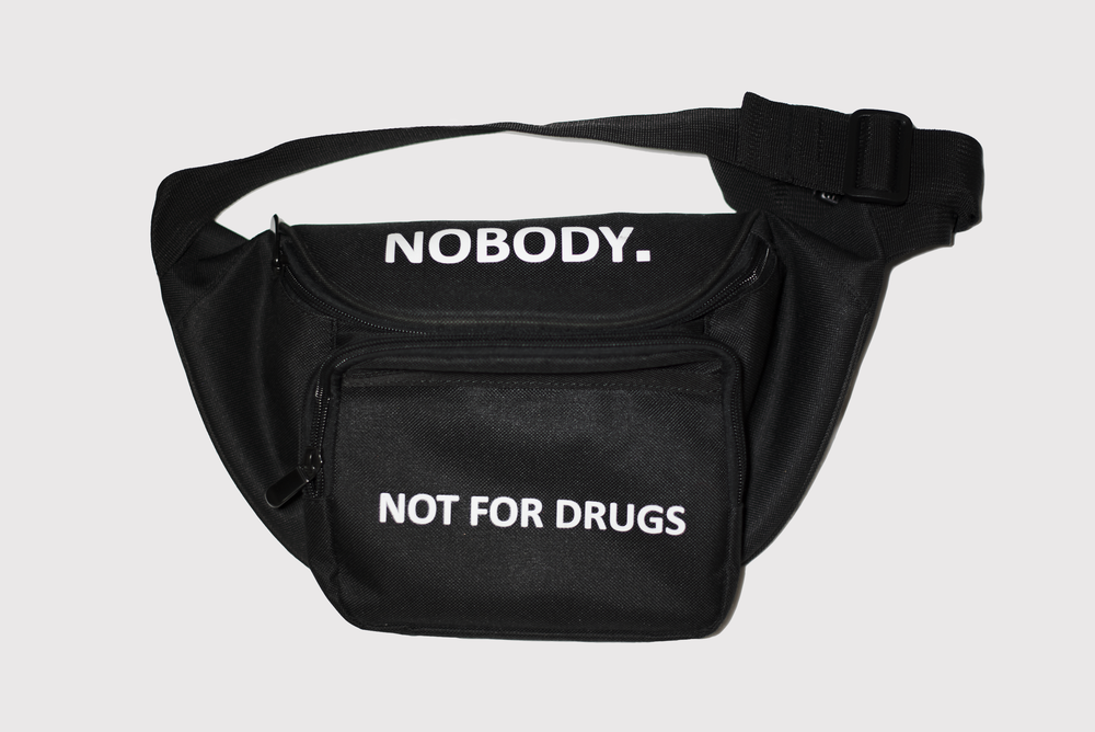 Image of Not For Drugs waist/shoulder bag