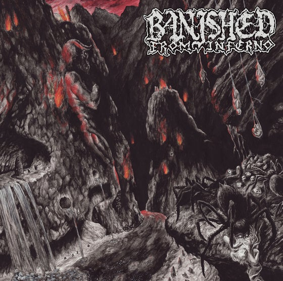 "Image of BANISHED FROM INFERNO ""Minotaur"" 12""LP"