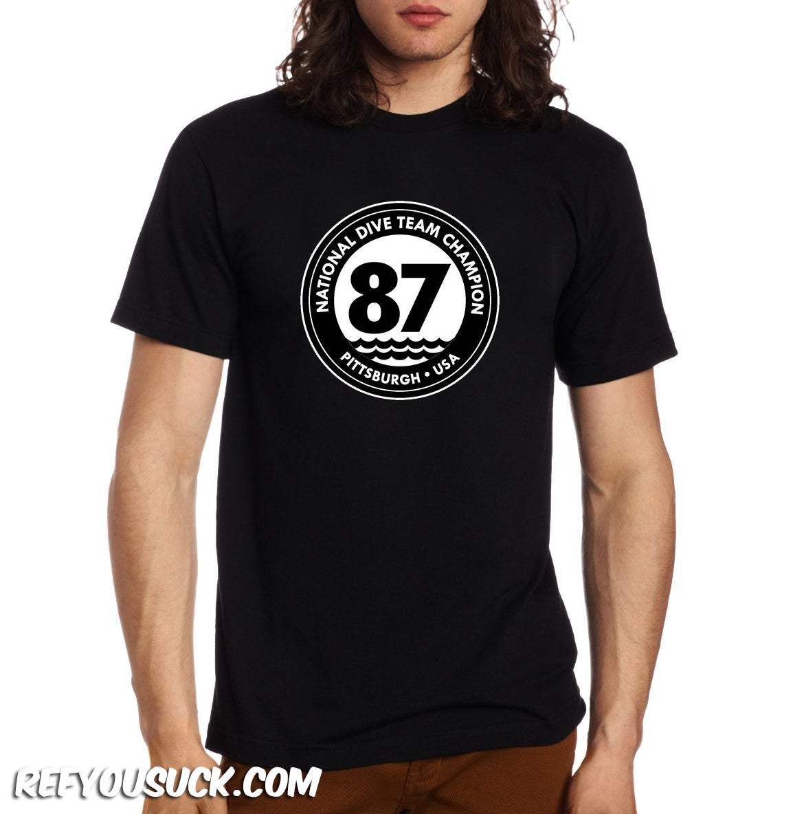 Image of National Dive Team Champ #87 - Mens & Womens T-Shirt