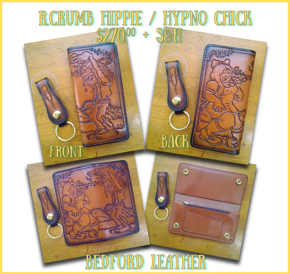 Image of Hippie / Hypno Chick Long Wallet
