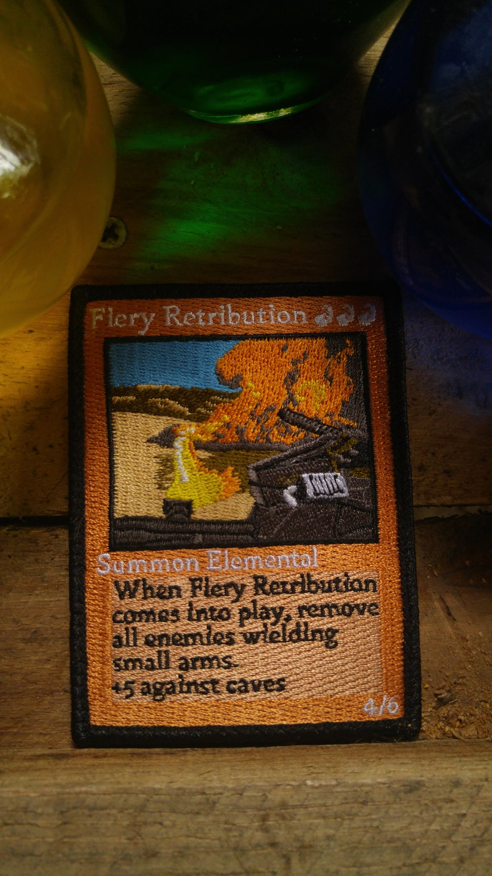 Image of Fiery Retribution