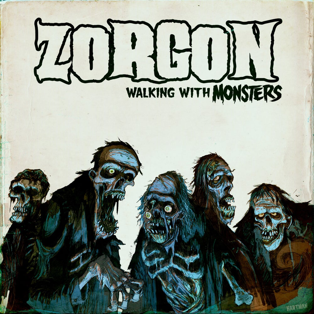 Image of ZORGON - Walking with Monsters CD price includes shipping