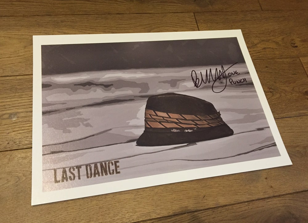Image of 'LAST DANCE' (exclusive signed A3 art print)