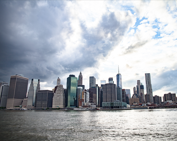 Image of Lower Manhattan City Skyline