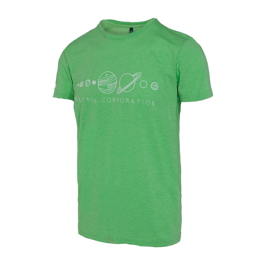 Image of Camiseta PLANETS Verde Marl