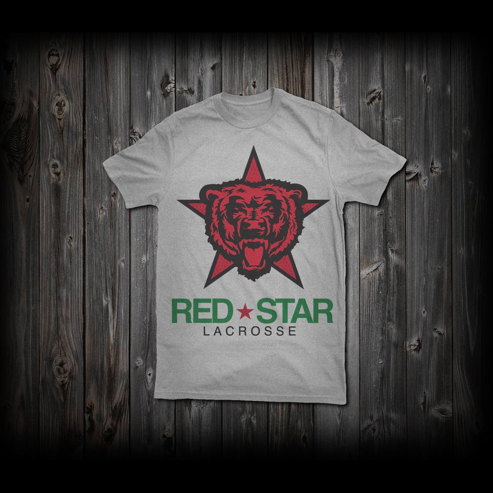 "Image of Red Star ""Classic Logo"" Tee"