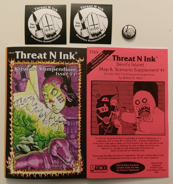 Image of Threat N Ink Issue #7 - Kreature Kompendium