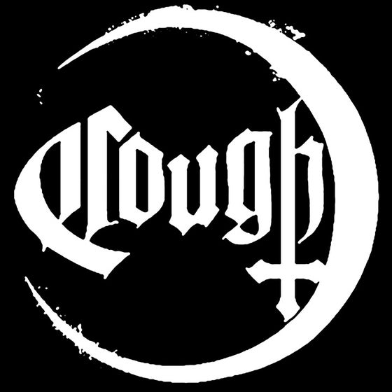 Image of Cough - Moon/Logo Backpatch