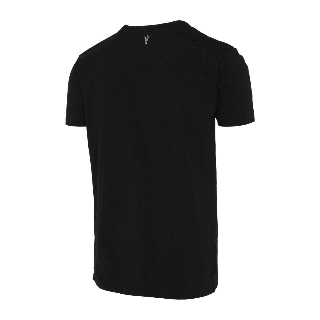 Image of Camiseta Reptil. Corp Basic Black & MultiGlitter