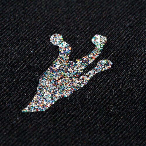 Image of Camiseta Reptil. Corp Basic Black & MultiGlitter