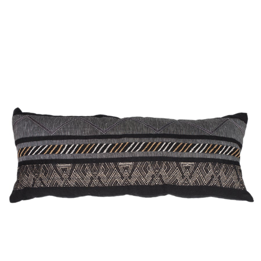 Image of Navajo Black Lumber Cushion