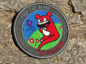 Image of 'Civilian' Red Ver. Patch