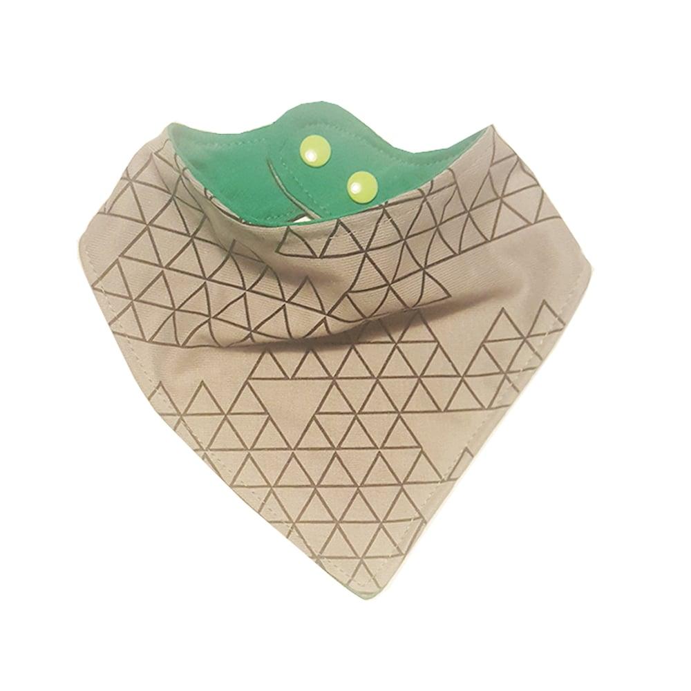 Image of Triangles ) Bandana Bib