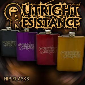 Image of Hip Flask - 8oz