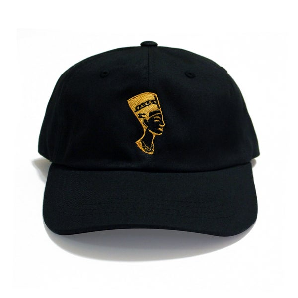 Image of Black Gold Nefertiti (Dad Hat)
