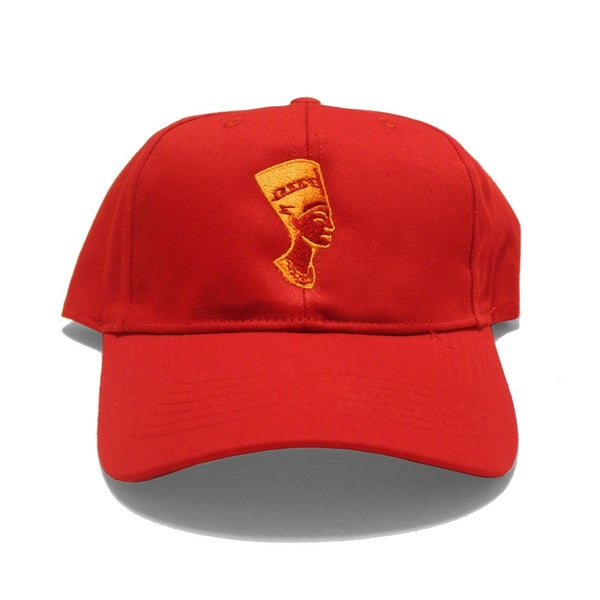 Image of Red Nefertiti (Dad Hat)