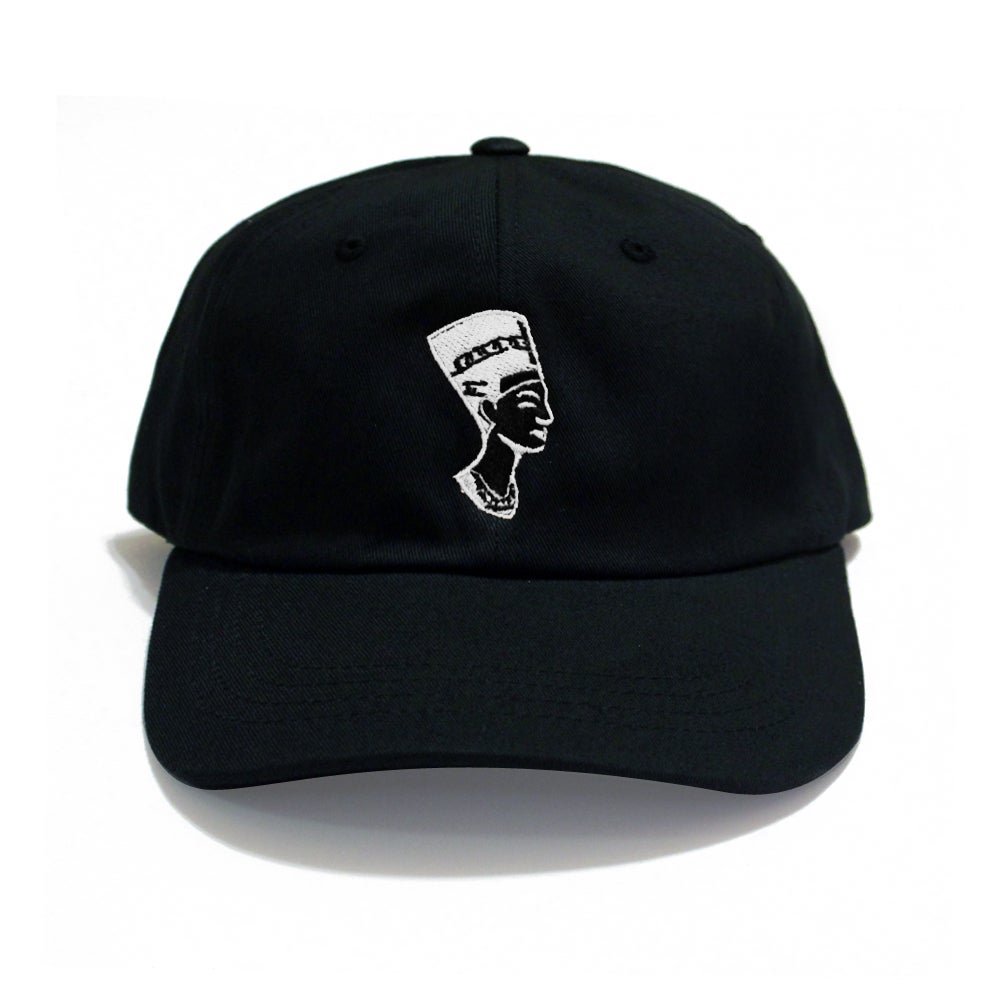 Image of Black White Nefertiti (Dad Hat)