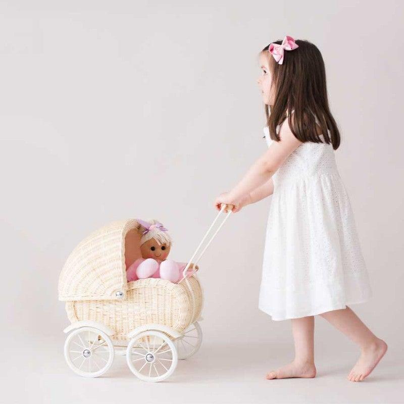 Image of The Grace Pram - Available in Natural or Grey ***CHRISTMAS DELIVERY ONLY***