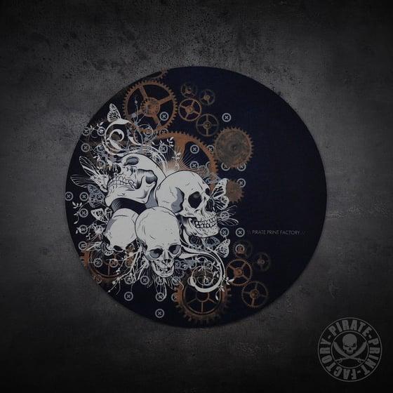 Image of Feutrine Skulls & Gears