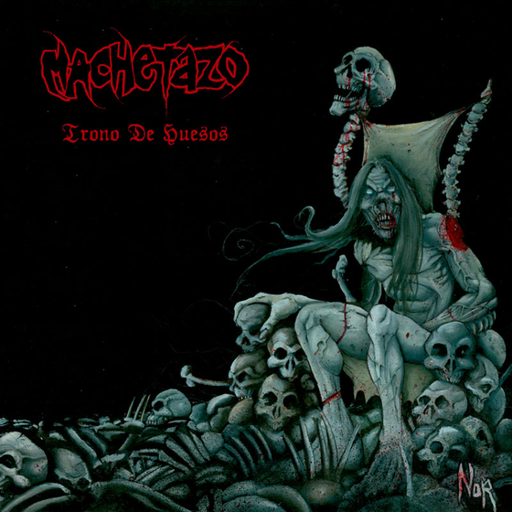 "Image of MACHETAZO ""Trono de Huesos"" 12""LP Gatefold"