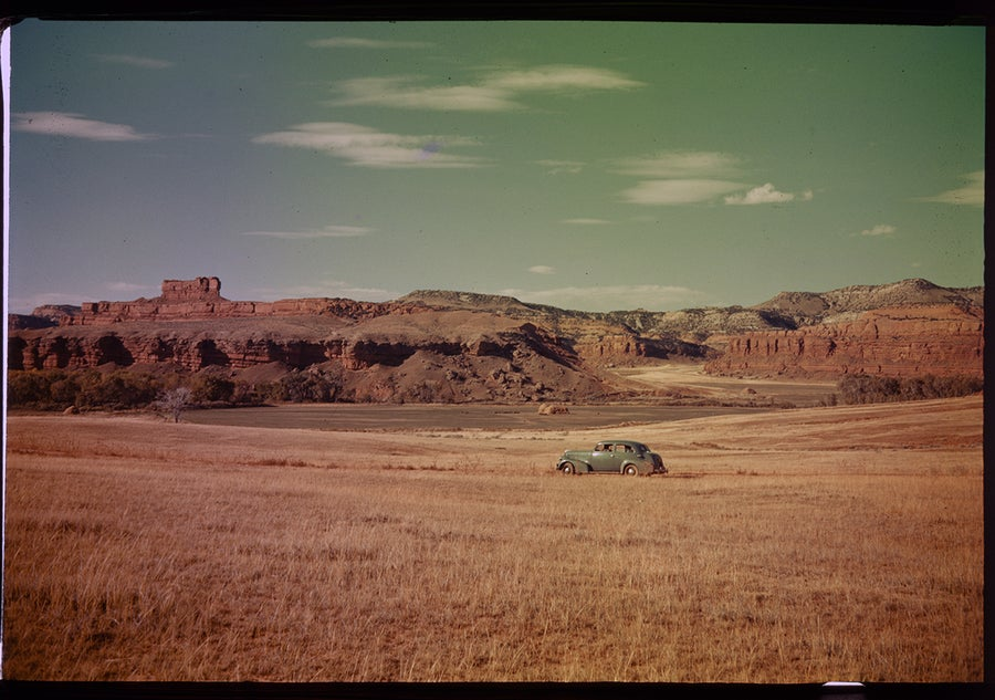 Image of Driving Through Utah; 1940s