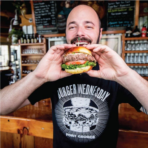 Image of Burger Wednesday shirt