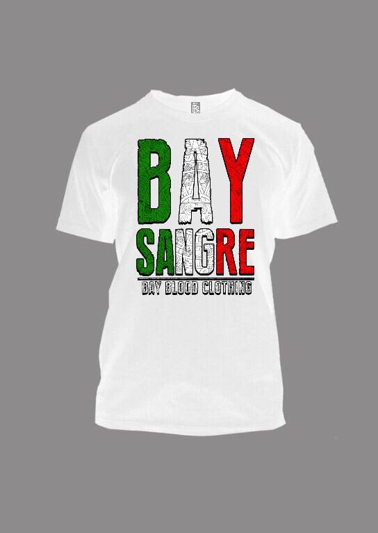 Image of Bay Sangre (white)