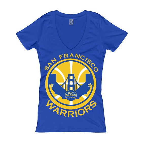 Image of Women's San Francisco Warriors (blue)