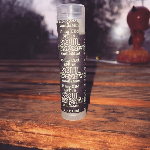 Image of VanillaMint CBD Lip Balm