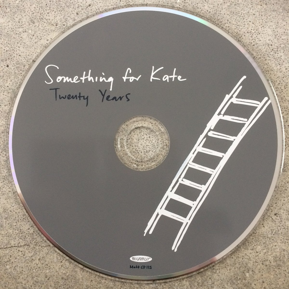 Image of Something for Kate - 'Twenty Years' CD single