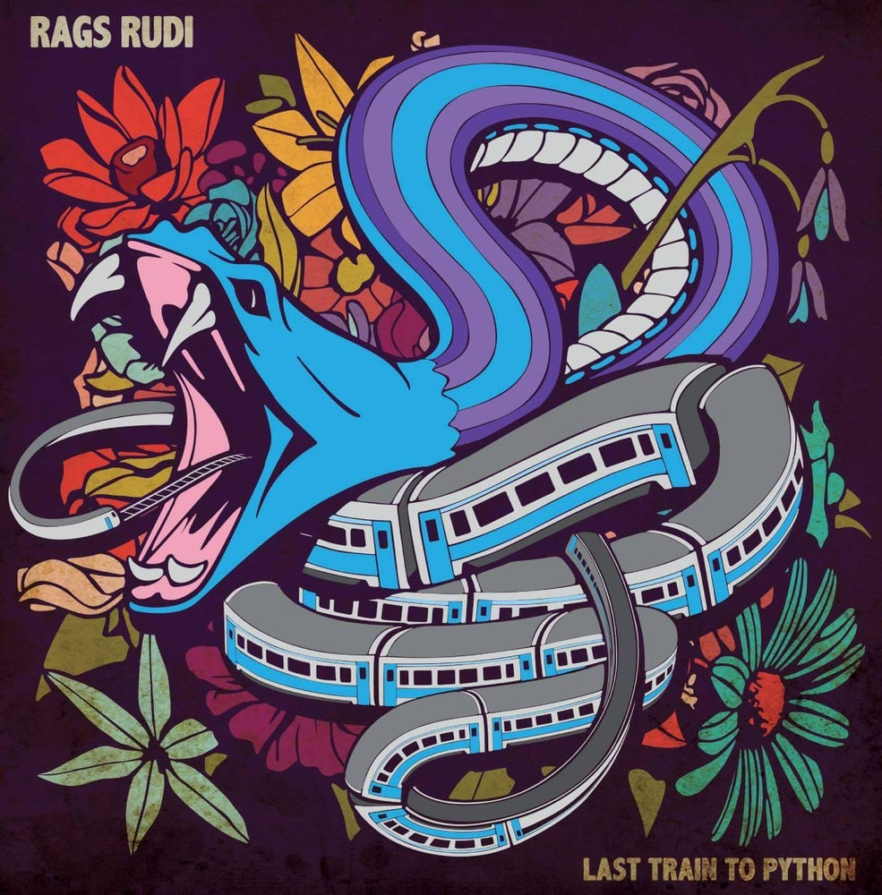 Image of Rags Rudi - Last Train To Python (2017) [CD]